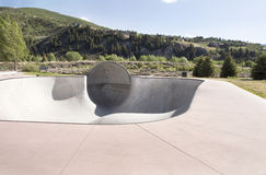 Skatepark bowl Stock Photos