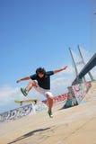 Skatepark Expo in Lissabon, Portugal Stock Afbeelding