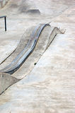 Skatepark grind rail Stock Photos
