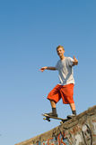 Skater Imagen de archivo libre de regalías