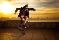 Skater adolescente Fotos de archivo