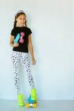 Skater adolescente Imagens de Stock Royalty Free