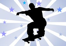 Skater boy Royalty Free Stock Photography
