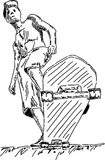 Skater boy Royalty Free Stock Image