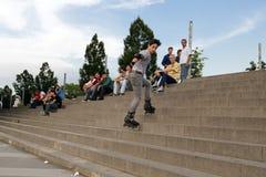 Skater boy in Bursa, TURKEY Stock Images