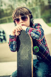 Skater boy Royalty Free Stock Images