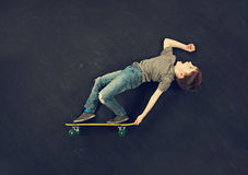 Skater boy Stock Image