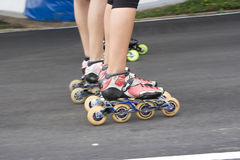 Skater in competitition Royalty Free Stock Photos