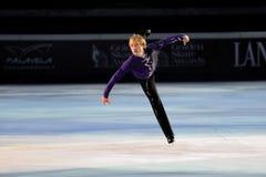 Skater de gelo Evgeni Plushenko Fotos de Stock Royalty Free