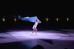 Skater de gelo profissional Imagem de Stock