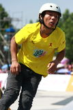 Skater do rolo Foto de Stock