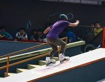 Skater do rolo Imagens de Stock Royalty Free