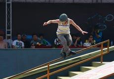 Skater do rolo Imagem de Stock Royalty Free