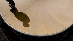 Skater en skatepark