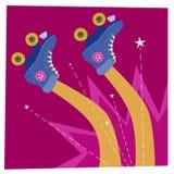 Skater Falls Down royalty free illustration