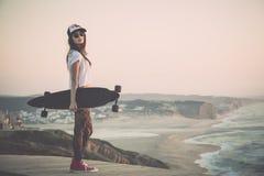 Skater Girl Royalty Free Stock Photo