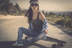 Skater Girl Royalty Free Stock Image