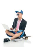 Skater guy Royalty Free Stock Photo