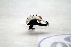 Skater on the ice Royalty Free Stock Images