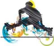 Skater illustration Stock Photography