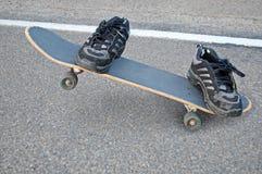 Skater invisível imagem de stock