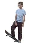 Skater isolado Imagem de Stock