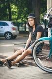 Skater joven Imágenes de archivo libres de regalías