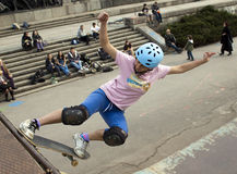 Skater performing Royalty Free Stock Photography
