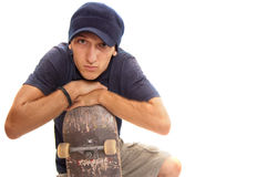 Skater portrait Stock Photography