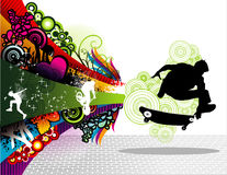 Skater sports vector Stock Photo