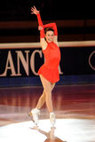 Skater Valentina Marchei at Golden Skate Award Royalty Free Stock Photography