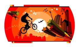 Skater vector illustration Royalty Free Stock Photo