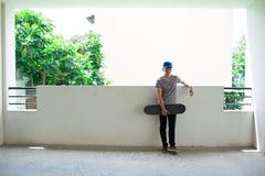 Skater vietnamita Fotografía de archivo libre de regalías