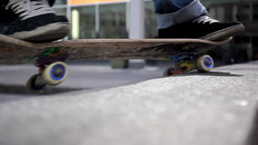 Skaterboarder stock footage