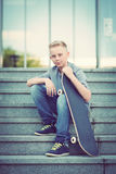 Skaterboy Royalty Free Stock Images