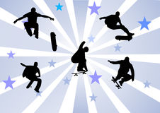 Skateres Fotografia de Stock Royalty Free