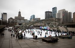 Skateres de Toronto fotografia de stock