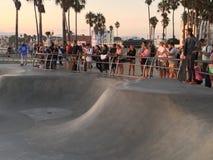 Skateres en Venecia imágenes de archivo libres de regalías