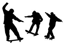 Skaters 1 Royalty Free Stock Image