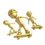 Skaters Stock Images