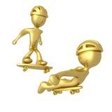 Skaters Stock Photo