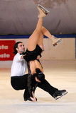 Skaters Alessandrini Vaturi -Italian Championship Royalty Free Stock Photography