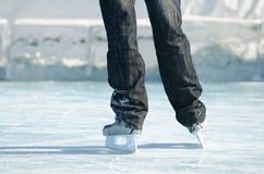 Skaters legs Royalty Free Stock Image