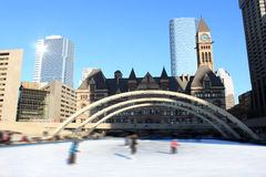 Skaters in Toronto Stock Image