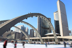 Skaters in Toronto Royalty Free Stock Image