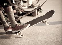 Skaters Royalty Free Stock Photo
