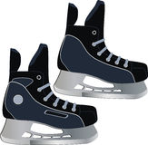 Skates. Dancing extreme sports games hockey ice winter Royalty Free Stock Photos