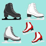 Skates icon Royalty Free Stock Photos