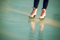 Skates season Stock Photo