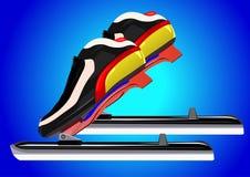 Skates skater Royalty Free Stock Images